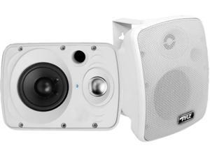 """PYLE HOME PDWR64BTW 6.5"""" Indoor/Outdoor 800-Watt Bluetooth(R) Speaker System (White)"""