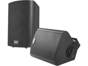 "PYLE HOME PDWR62BTBK 6.5"" Indoor/Outdoor Wall-Mount Bluetooth(R) Speaker System (Black)"