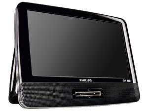 PORTABLE DVD PLAYER DUAL SCREEN