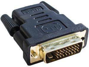 HDMI FEMALE TO DVI-D MALE