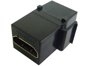 HDMI KEYSTONE INSERT IN BLACK