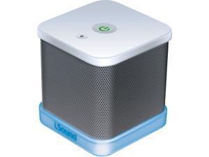 ISOUND ISOUND-6204 iGlowSound Cube Wired Portable Speaker (White)