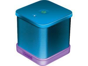 ISOUND ISOUND-6206 iGlowSound Cube Wired Portable Speaker (Blue)