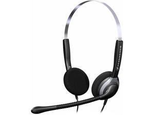 Over-the-Head SH250 Double-Sided Headset with Omni-Directional Microphone - Black