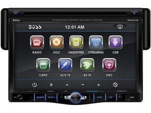 """Single Din 7"""" Drop Down DVD Receiver Bluetooth® Enabled"""