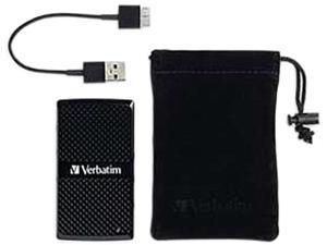 Verbatim Vx450 128GB mSATA USB 3.0 Solid State Disk - External