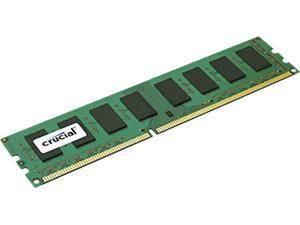 Crucial 2GB 240-Pin DDR3 SDRAM DDR3 1600 (PC3 12800) Single Ranked Desktop Memory Model CT25664BA160BJ
