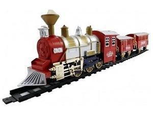 Classic Train Set with Smoke and Sound