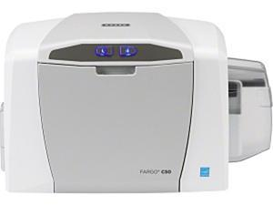 Fargo C50 Single Sided Dye Sublimation/Thermal Transfer Printer - Color - Desktop - Card Print