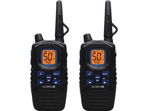 R300 Rechargeable 2-Way Radio with Range Up to 40 Miles