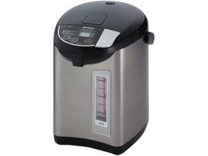 Tiger PDU-A40U-K Electric Water Boiler and Warmer, Stainless Black, 4.0-Liter