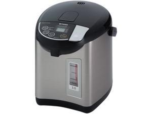 Tiger PDU-A30U-K Electric Water Boiler and Warmer, Stainless Black, 3.0-Liter Made in Japan