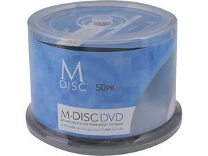 MDisc 4.7GB DVD Recordable Media - 50 Pack Model MDHA050C