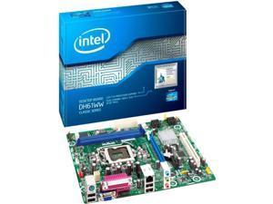 Intel Classic DH61WW Desktop Motherboard - Intel Chipset - Socket H2 LGA-1155 - 10 x Bulk Pack