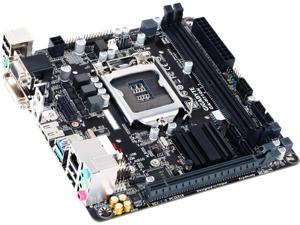 GIGABYTE GA-H110N (rev. 1.0) LGA 1151 Intel H110 HDMI SATA 6Gb/s USB 3.0 Mini ITX Intel Motherboard