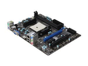 MSI FM2-A55M-E33 Micro ATX AMD Motherboard with UEFI BIOS