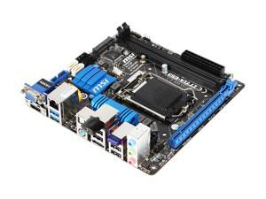 MSI Z77IA-E53 Mini ITX Intel Motherboard with UEFI BIOS