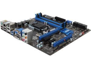 MSI B85M-G43 LGA 1150 Intel B85 HDMI SATA 6Gb/s USB 3.0 Micro ATX High Performance CF Intel Motherboard