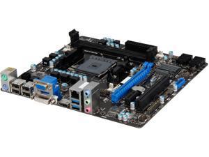 MSI A78M-E35 FM2+ / FM2 AMD A78 (Bolton D3) SATA 6Gb/s USB 3.0 HDMI Micro ATX AMD Motherboard