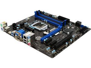 MSI B85M-E45 LGA 1150 Intel B85 HDMI SATA 6Gb/s USB 3.0 Micro ATX Intel Motherboard