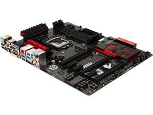 MSI Z87-G45 Gaming-R LGA 1150 Intel Z87 HDMI SATA 6Gb/s USB 3.0 ATX Pro Gaming with Killer Networking & Sound Blaster Intel Motherboard Certified Refurbished
