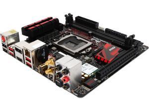 MSI MSI Gaming Z170I Gaming Pro AC LGA 1151 Intel Z170 HDMI SATA 6Gb/s USB 3.1 Mini ITX Intel Motherboard