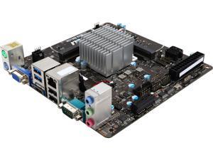 MSI N3150I ECO Intel N3150 Quad Core 6W Intel Braswell Mini ITX Motherboard/CPU Combo