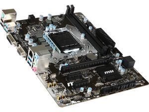 MSI B150M Pro-VD LGA 1151 Intel B150 SATA 6Gb/s USB 3.1 Micro ATX Intel Motherboard