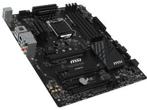 MSI Z170A SLI LGA 1151 Intel Z170 SATA 6Gb/s USB 3.1 ATX Intel Motherboard