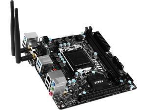 MSI H170I Pro AC LGA 1151 Intel H170 HDMI SATA 6Gb/s USB 3.1 Mini ITX Intel Motherboard