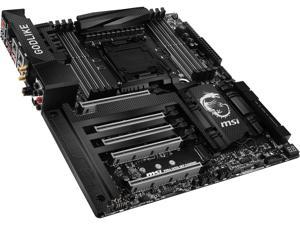 MSI X99A GodLike Gaming Carbon LGA 2011-v3 Intel X99 SATA 6Gb/s USB 3.1 Extended ATX Intel Motherboard