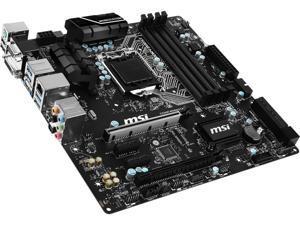 MSI C236M Workstation LGA 1151 Intel C236 HDMI SATA 6Gb/s USB 3.1 Micro ATX Intel Motherboard