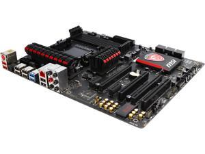 MSI Gaming 970 Gaming AM3+/AM3 AMD 970 and SB950 SATA 6Gb/s USB 3.0 ATX Motherboards - AMD