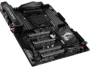 MSI X99A GAMING PRO CARBON LGA 2011-v3 Intel X99 SATA 6Gb/s USB 3.1 ATX Motherboards - Intel