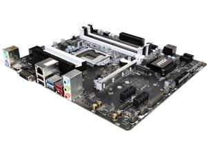 MSI B150M BAZOOKA PLUS LGA 1151 Intel B150 HDMI SATA 6Gb/s USB 3.1 Micro ATX Motherboards - Intel
