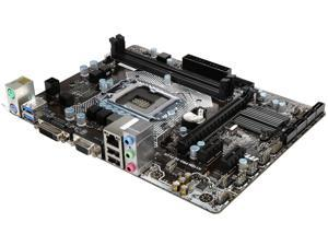 MSI H110M PRO-VD PLUS LGA 1151 Intel H110 SATA 6Gb/s USB 3.1 Micro ATX Motherboard - Intel
