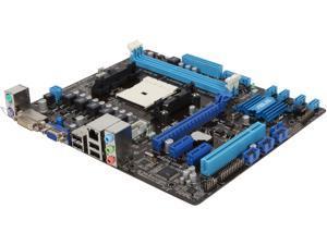 ASUS F2A55-M LK PLUS Micro ATX AMD Motherboard with UEFI BIOS