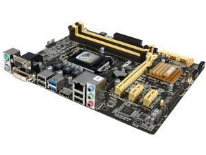 ASUS B85M-G R2.0 LGA 1150 Intel B85 HDMI SATA 6Gb/s USB 3.0 Micro ATX Intel Motherboard