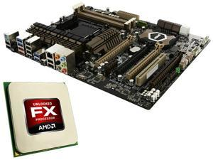 ASUS Sabertooth 990FX Motherboard and AMD FX-8350 4.0GHz(4.2GHz Turbo)