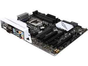 ASUS Z170-A LGA 1151 Intel Z170 HDMI SATA 6Gb/s USB 3.1 USB 3.0 ATX Intel Motherboard
