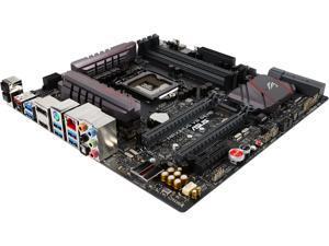 ASUS ROG MAXIMUS VIII GENE LGA 1151 Intel Z170 HDMI SATA 6Gb/s USB 3.1 USB 3.0 Micro ATX Intel Gaming Motherboard