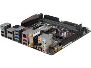 ASUS Z170I PRO GAMING LGA 1151 Intel Z170 HDMI SATA 6Gb/s USB 3.1 USB 3.0 Mini ITX Intel Motherboard