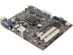 ECS H87H3-M3(1.0) LGA 1150 Intel H87 HDMI SATA 6Gb/s USB 3.0 Micro ATX Intel Motherboard