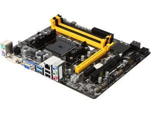 BIOSTAR A88MQ FM2+ / FM2 AMD A88X (Bolton D4) SATA 6Gb/s USB 3.0 Micro ATX AMD Motherboard