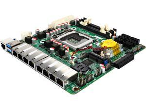 Jetway Intel 6th Generation i3/i5/i7 Motherboard w/ 8 x Intel GbLAN expandable to 12 Intel GbLAN, HDMI, Motherboard Mini-ITX