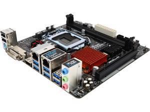 ASRock H170M-ITX/ac LGA 1151 Intel H170 HDMI SATA 6Gb/s USB 3.0 Mini ITX Intel Motherboard