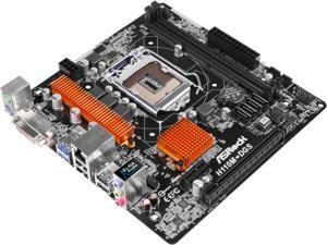 ASRock H110M-DGS LGA 1151 Intel H110 SATA 6Gb/s USB 3.0 Micro ATX Intel Motherboard