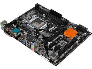 ASRock H110M-DVP LGA 1151 Intel H110 SATA 6Gb/s USB 3.0 Micro ATX Intel Motherboard