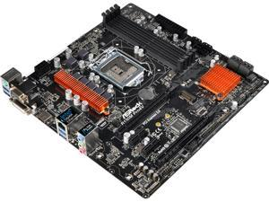 ASRock B150M Pro4V LGA 1151 Intel B150 HDMI SATA 6Gb/s USB 3.0 Micro ATX Motherboards - Intel
