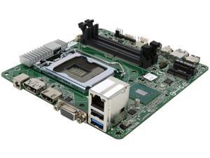 ASRock H110M-STX LGA 1151 Intel H110 HDMI SATA 6Gb/s USB 3.0 Mini STX Motherboards - Intel